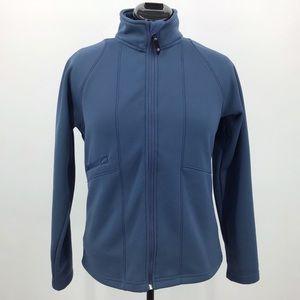 Sunice Six Layers Soft Shell Blue Fleece Jacket, M